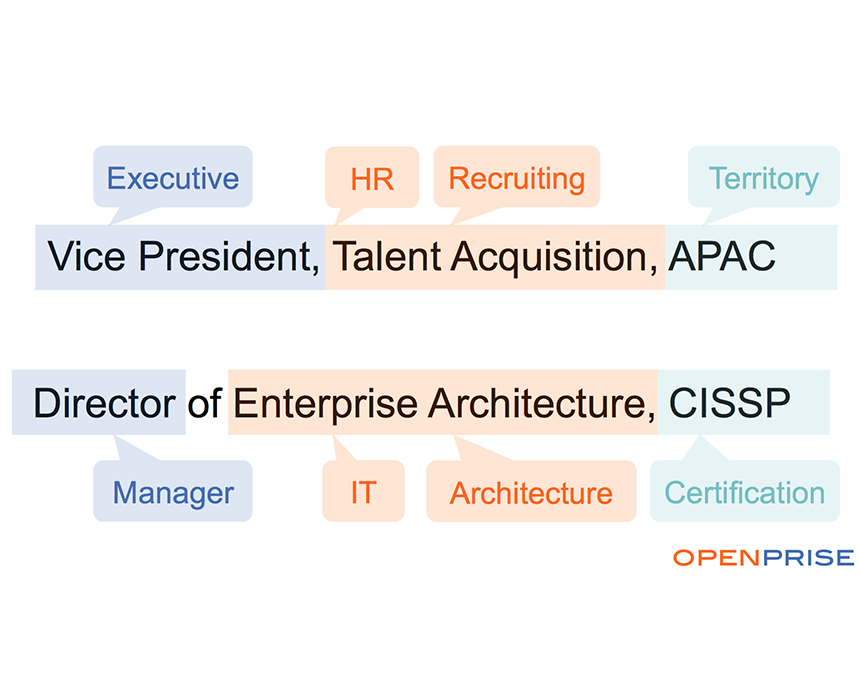 Job Title Segmentation