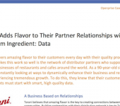 Torani Adds Flavor to Their Partner Relationships with a Premium Ingredient: Data