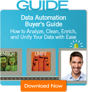 Data Automation Buyer's Guide -How to Analyze, Clean, Enrich, and Unify Your Data with Ease