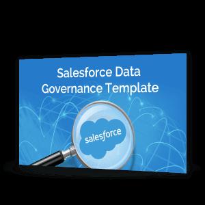 Saleforce Data Governance Template