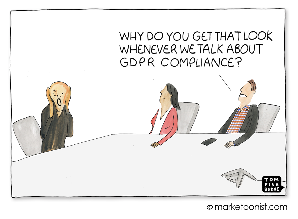 General Data Protectioncartoon