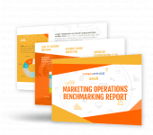 2018 Marketing Operations Benchmarking Report