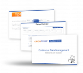 Openprise Cb Continuous Data Maintenance