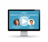 Webinar: A Data-Driven Marketer's Guide to GDPR