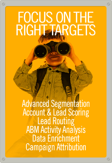 Data Orchestration to Focus on the Right Targets
