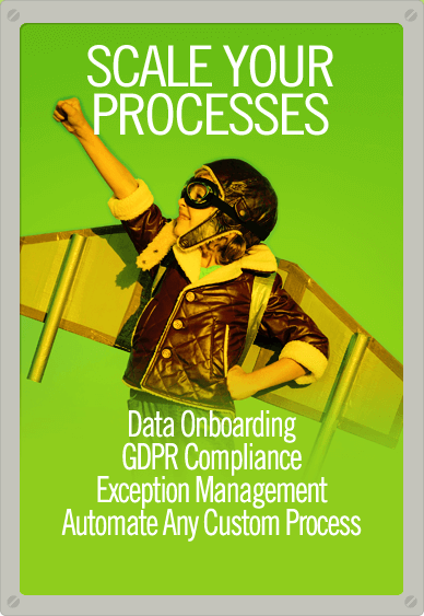 Data Orchestration to Scale Your Processes.