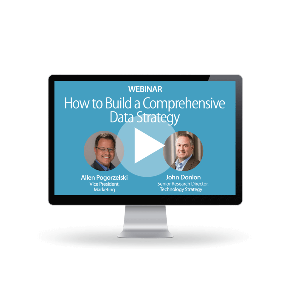 How To Build A Comprehensive Data Strategy