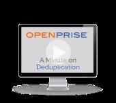A minute on deduplication
