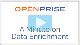 A minute on data enrichment