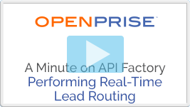 A minute on API Factory