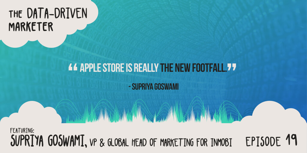 """The Apple store is really the new footfall."" — Supriya Goswami"