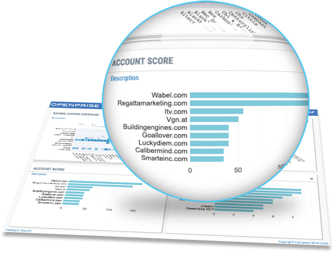 sophisticated lead and account scoring models