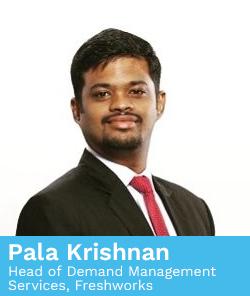 Pala Krishnan, Head of Demand Management Services