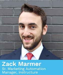 Zack Marmer, Sr. Marketing Automation Manager