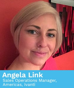 Angela Link, Sales Operations Manager, Americas