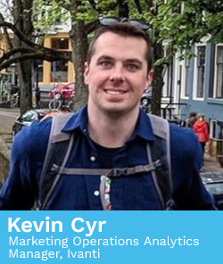 Kevin Cyr, Marketing Operations Analytics Manager