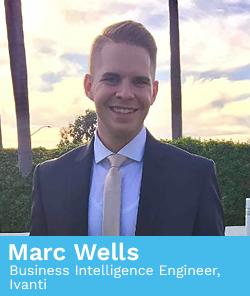 Marc Wells, Business Intelligence Engineer