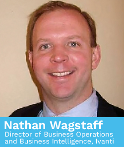 Nathan Wagstaff, Director of Business Operations and Business Intelligence