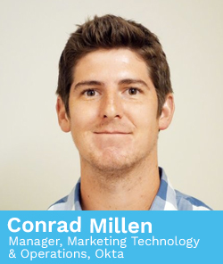 Conrad Millen, Manager, Marketing Technology & Operations