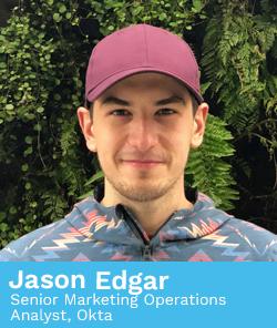 Jason Edgar, Senior Marketing Operations Analyst